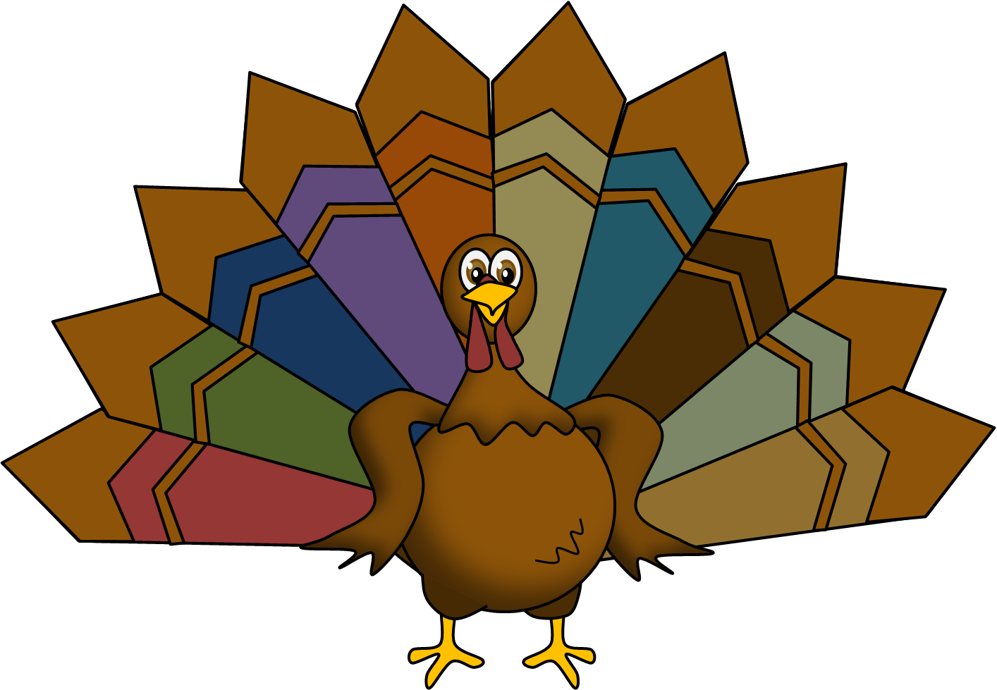 Turkey body clip art - photo#20
