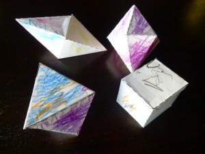 paper crystals