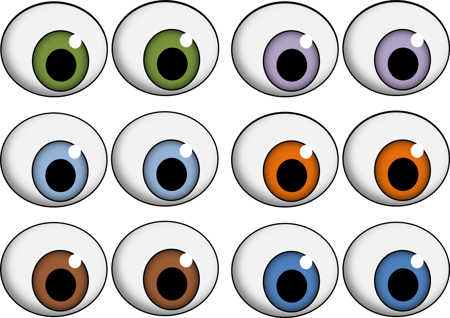 Sweet image throughout printable eyeballs