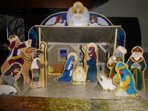 Another nativity set our children love