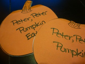 Peter Pumpkin Books