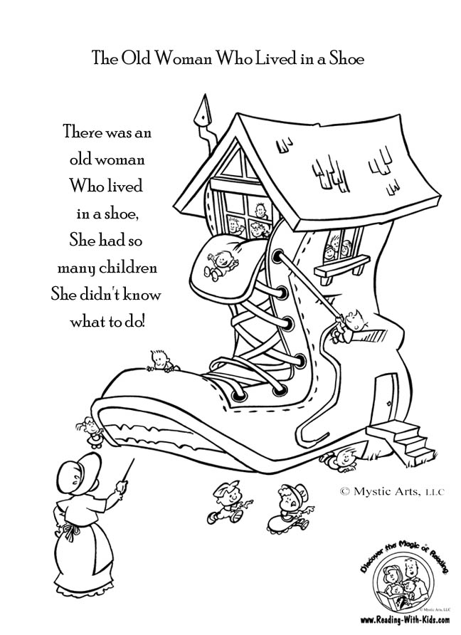 old-woman-lived-in-a-shoe-coloring-page