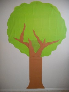apple tree decoration