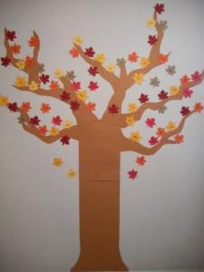 fall classroom decoration
