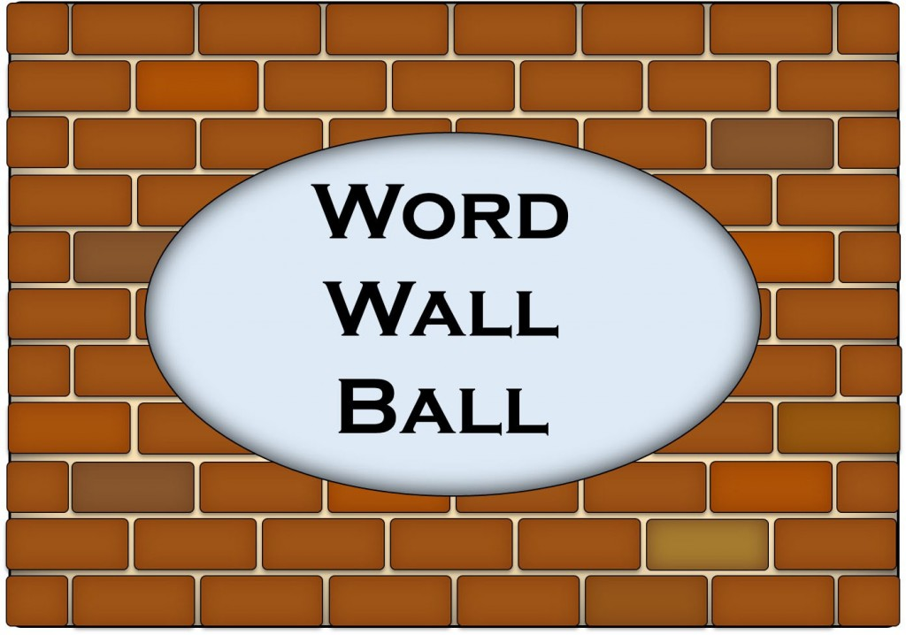 word wall ball title
