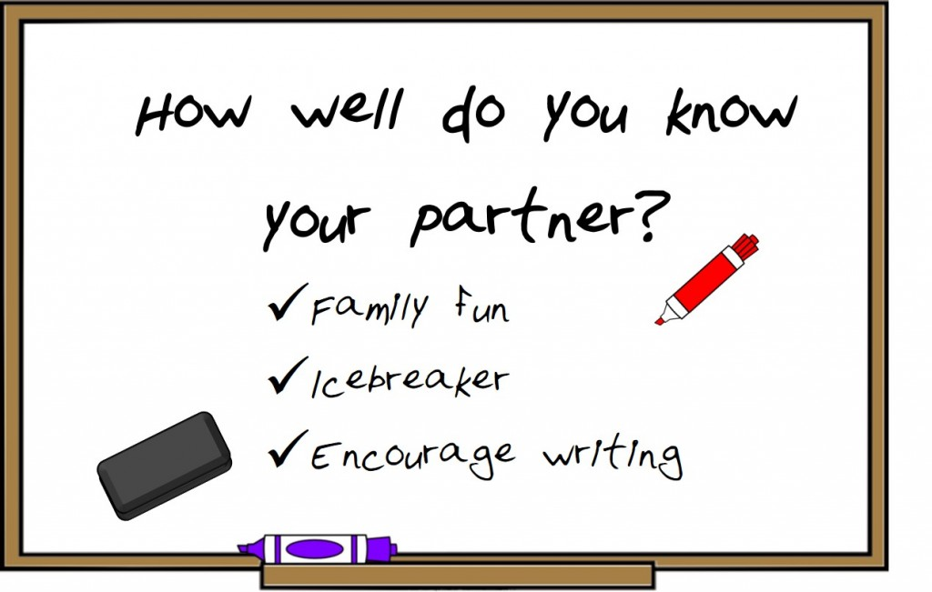 How well do you know your partner game